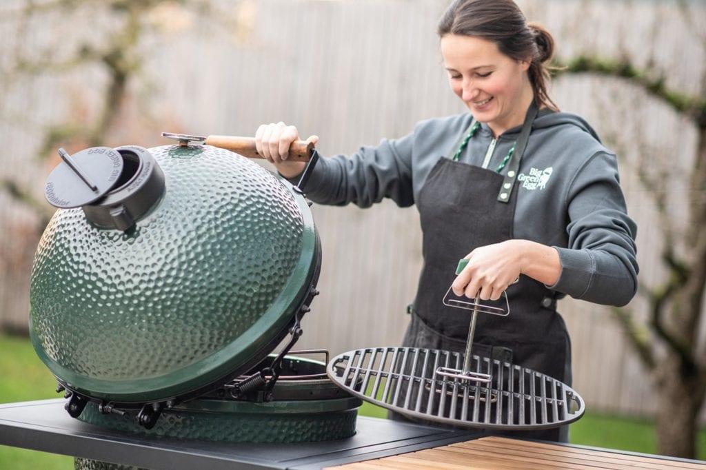 Big Green Egg schoonmaken en onderhouden