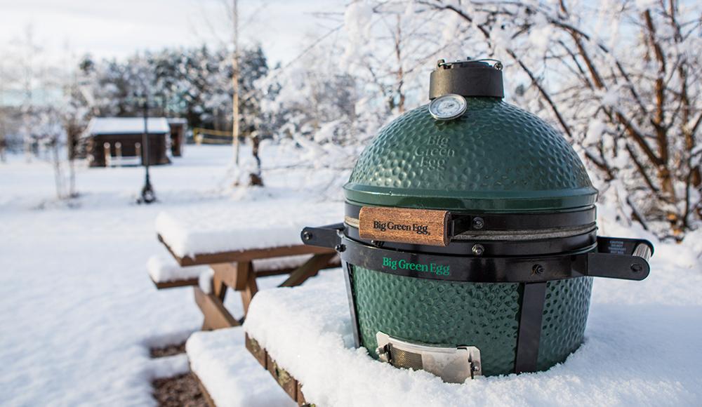 Kamado BBQ winterklaar maken